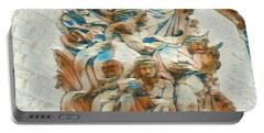 Sculpture - Paris France - Arc De Triomphe Portable Battery Charger