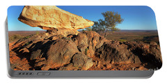 Portable Battery Charger featuring the photograph Sculpture Park Broken Hill by Bill Robinson