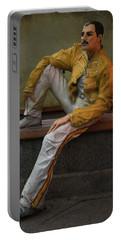 Sculptures Of Sankt Petersburg - Freddie Mercury Portable Battery Charger