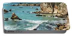 Sea And Cliffs Portable Battery Charger
