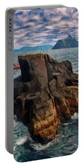 Sea And Stone Portable Battery Charger by Jeff Kolker