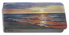 Sea Beach 8 - Baltic Sunset Portable Battery Charger