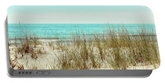 Sea Breeze Portable Battery Charger by Colleen Kammerer