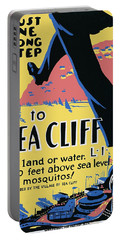 Sea Cliff Long Island Poster 1939 Portable Battery Charger