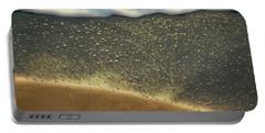 Sea Foam #2 Portable Battery Charger by Glenn Gemmell