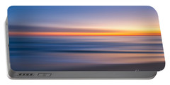 Sea Girt New Jersey Abstract Seascape Sunrise Portable Battery Charger