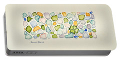 Sea Glass Puzzle - Found Luck Portable Battery Charger