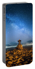 Portable Battery Charger featuring the photograph Sea Goddess Statue, Bali by Pradeep Raja Prints