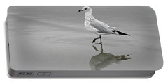 Sea Gull Walking In Surf Portable Battery Charger