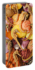Sea Horses And Sea Shells Portable Battery Charger