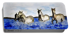 Sea Horses Portable Battery Charger