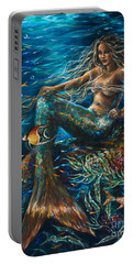 Sea Jewels Mermaid Portable Battery Charger