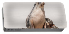 Sea Lion 1 Portable Battery Charger by Werner Padarin