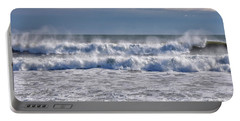 Sea Mist Portable Battery Charger by Tricia Marchlik