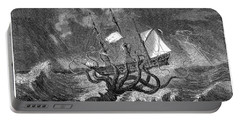Sea Monster, 19th Century Portable Battery Charger