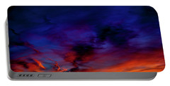 Portable Battery Charger featuring the photograph Sea Of Colors by Eric Christopher Jackson