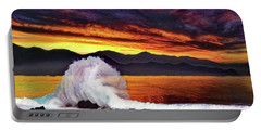 Sea Of Cortez Sunset Portable Battery Charger