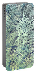 Sea Of Flakes Portable Battery Charger by AugenWerk Susann Serfezi