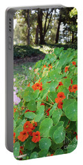 Sea Of Nasturtiums Portable Battery Charger