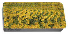 Sea Of Yellow Portable Battery Charger