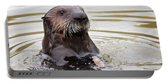 Sea Otter With Clam Portable Battery Charger