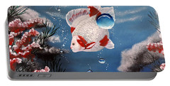 Sea Princess Portable Battery Charger by Dianna Lewis