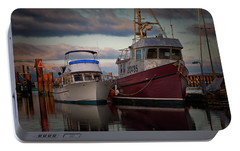 Portable Battery Charger featuring the photograph Sea Rake by Randy Hall