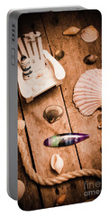 Sea Shell Decking Portable Battery Charger