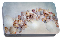 Portable Battery Charger featuring the photograph Sea Shells 4 by Rebecca Cozart