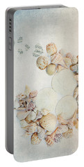 Sea Shells 7 Portable Battery Charger by Rebecca Cozart