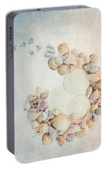 Portable Battery Charger featuring the photograph Sea Shells 7 by Rebecca Cozart