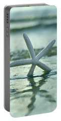 Portable Battery Charger featuring the photograph Sea Star Vert by Laura Fasulo