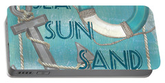 Sea Sun Sand Portable Battery Charger