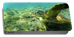 Portable Battery Charger featuring the photograph Sea Turtle #2 by Anthony Jones