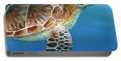 Sea Turtle 2 Of 3 Portable Battery Charger
