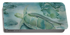 Sea Turtle And Friend Portable Battery Charger