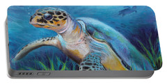 Sea Turtle Cove Portable Battery Charger