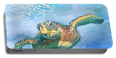 Sea Turtle Series #2 Portable Battery Charger