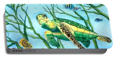Sea Turtle Series #3 Portable Battery Charger