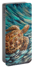 Sea Turtle Wave Guam Portable Battery Charger