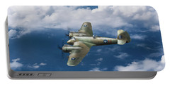 Portable Battery Charger featuring the photograph Seac Beaufighter by Gary Eason