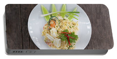 Seafood Fried Rice Portable Battery Charger