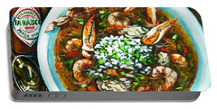 Seafood Gumbo Portable Battery Charger