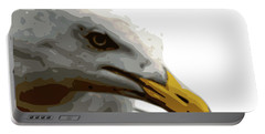 Seagull Closeup Portable Battery Charger