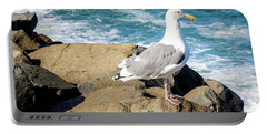 Seagull On Jetty Portable Battery Charger
