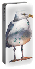 Seagull Print Portable Battery Charger