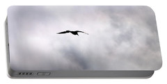 Portable Battery Charger featuring the photograph Seagull's Sky 2 by Jouko Lehto