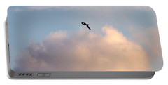 Portable Battery Charger featuring the photograph Seagull's Sky 3 by Jouko Lehto