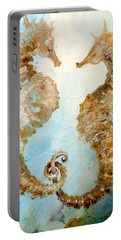 Seahorses In Love 2016 Portable Battery Charger