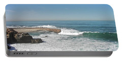Portable Battery Charger featuring the photograph Seal Beach by Carol  Bradley